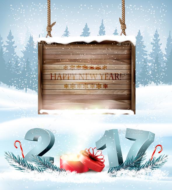 Happy New Year 2017 - New Year Seasons/Holidays