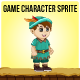 Robin Hood Little Boy Sprite Character - GraphicRiver Item for Sale