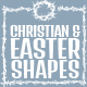 Christian Themed Shapes - GraphicRiver Item for Sale