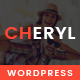 Cheryl - Responsive Design WordPress Magazine & Blog Theme Nulled
