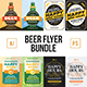 Beer Flyer Template Bundle