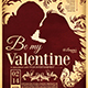 Valentines Day Flyer + Menu Bundle V6 - GraphicRiver Item for Sale