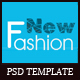 Fashion eCommerce PSD Template - ThemeForest Item for Sale