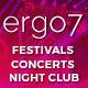 Ergo7 - HTML Template for Events | Parties | Festivals
