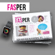 Fasper Fashion Newspaper - GraphicRiver Item for Sale