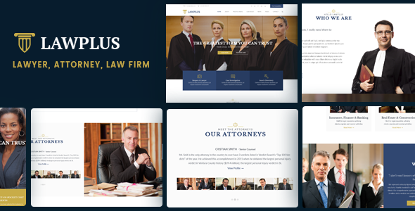 LawPlus – Lawyer, Attorney, Law Firm WordPress Theme