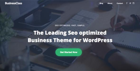 BusinessClass – Seo Optimized & Seo Friendly Corporate Business Theme