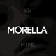 Morella - Minimal Agency Template - ThemeForest Item for Sale