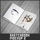 Sketchbook / Notebook Mock-Up 2 - GraphicRiver Item for Sale