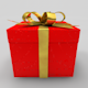 Christmas gift box - 3DOcean Item for Sale