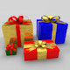 Gift boxes - 3DOcean Item for Sale
