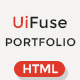 UiFuse - Responsive Portfolio HTML Template - ThemeForest Item for Sale
