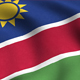 Namibia Flag Background - VideoHive Item for Sale