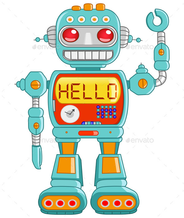 Hello Robot - Miscellaneous Characters