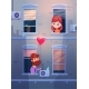 Two Lovers Talking Oby Opening Window - GraphicRiver Item for Sale