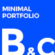 B&C - Portfolio & Agency minimal PSD Template - ThemeForest Item for Sale