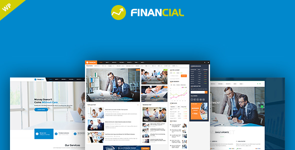 Financial - Business and Financial WordPress Theme - Business Corporate