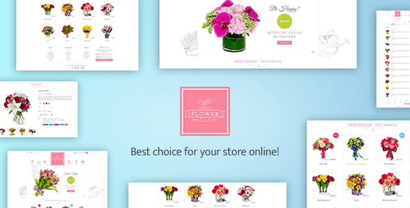 Image of Flower Responsive Shopify Theme - Flowerify