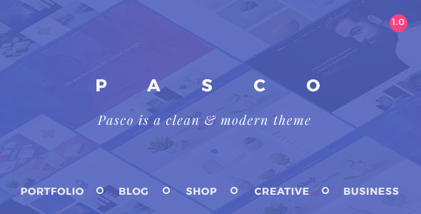 Pasco – Creative Multi-Purpose WordPress Theme