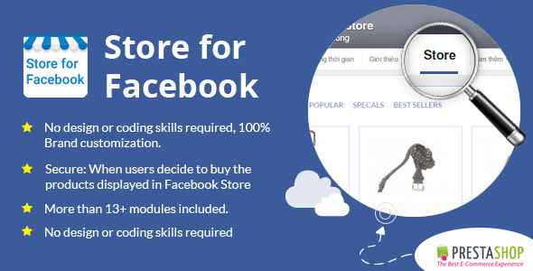 Prestashop Store for Facebook Module - CodeCanyon Item for Sale