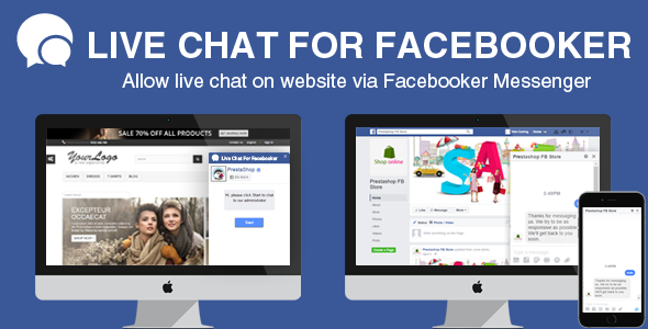 Live Chat to Facebook Page on Prestashop Store Module - CodeCanyon Item for Sale