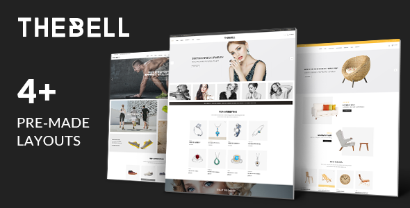 Thebell – Multipurpose Responsive Magento Theme