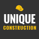 UNIQUE - Construction Company PSD Template Nulled