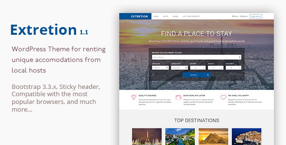 Extretion – WordPress Directory Theme