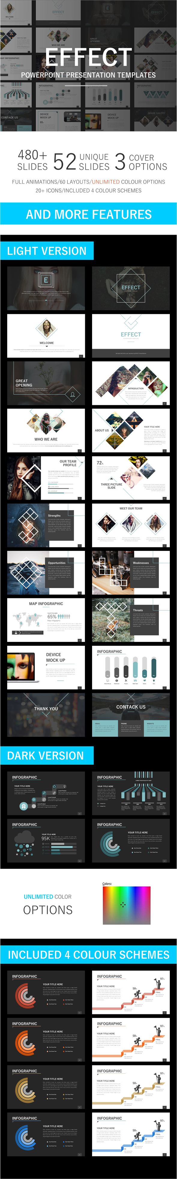 Effect Powerpoint Template - Business PowerPoint Templates