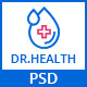 DR.HEALTH - Modern and Creative PSD Template - ThemeForest Item for Sale