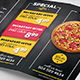 Pizza Restaurant Menu Flyer - GraphicRiver Item for Sale