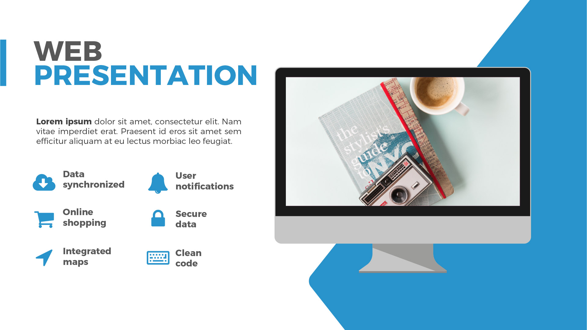 modular / modern and clean multipurpose professional powerpoint, Modern powerpoint