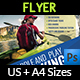 Kayaking Flyer Template - GraphicRiver Item for Sale