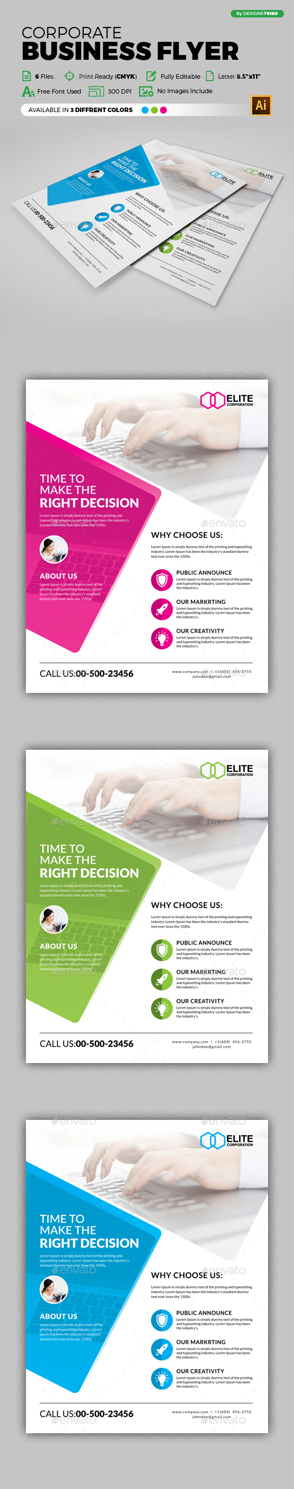 Flyer – Multipurpose 264 - Corporate Flyers