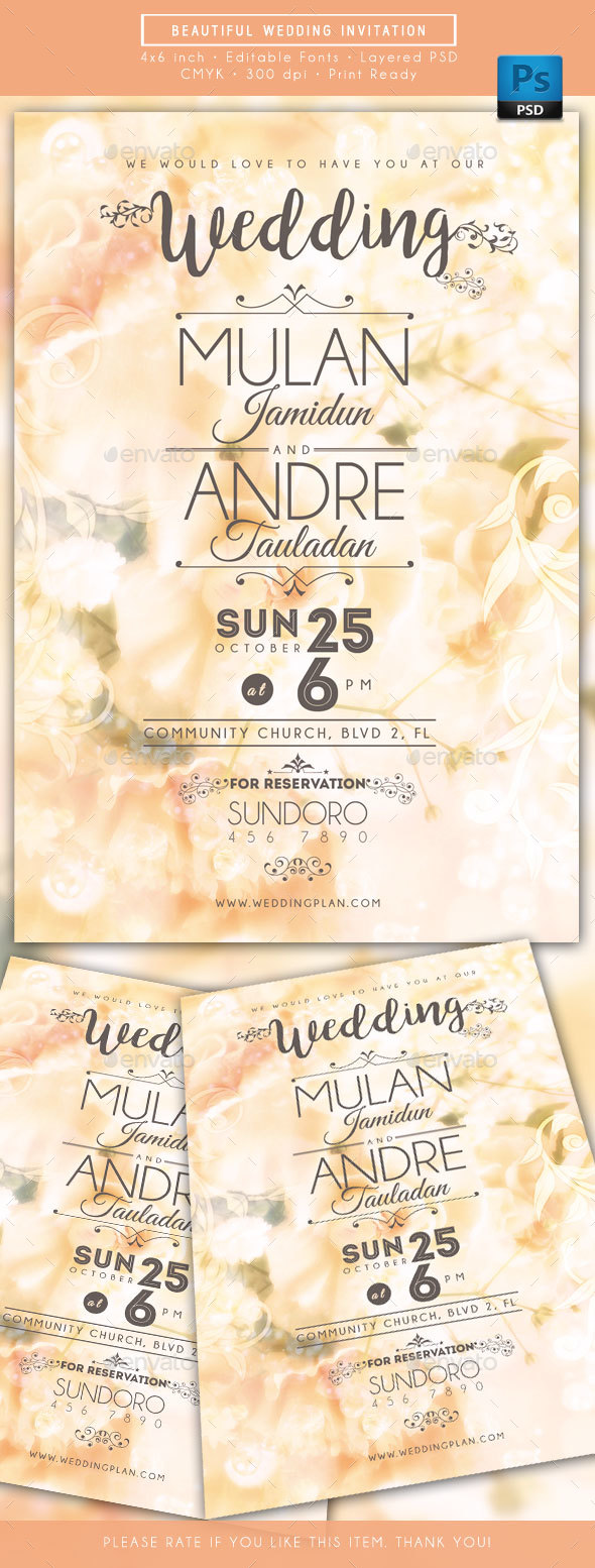 Beautiful Wedding Invitations - Weddings Cards & Invites