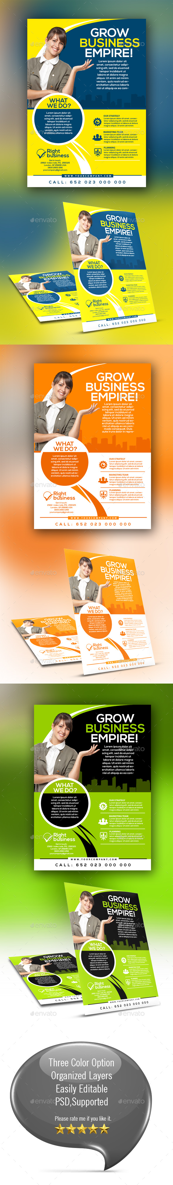 Business Flyer Vol-001 - Corporate Flyers