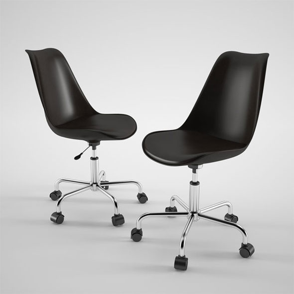 Habitat Ginnie Office Chair - 3DOcean Item for Sale