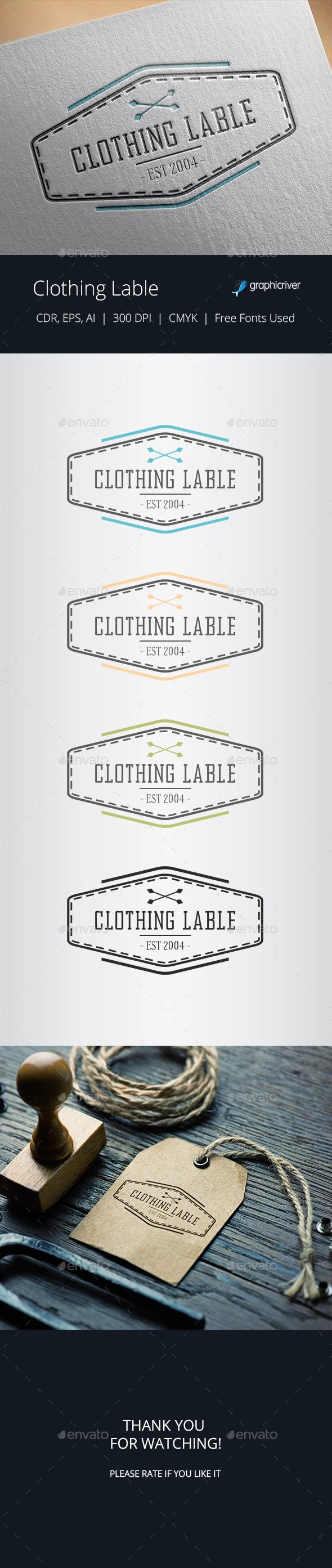 Vintage Vector Badge / Clothing Label - Badges & Stickers Web Elements