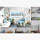 Wall & Frames Mockup - Pack Vol. 2 - GraphicRiver Item for Sale