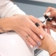 Manicure Artist Making Professional Manicure in Spa Salon - VideoHive Item for Sale