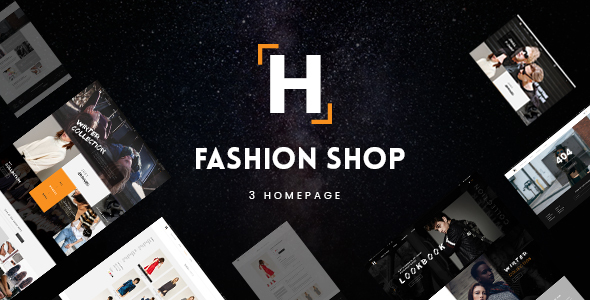 HShop – Fashion Shop PSD Template