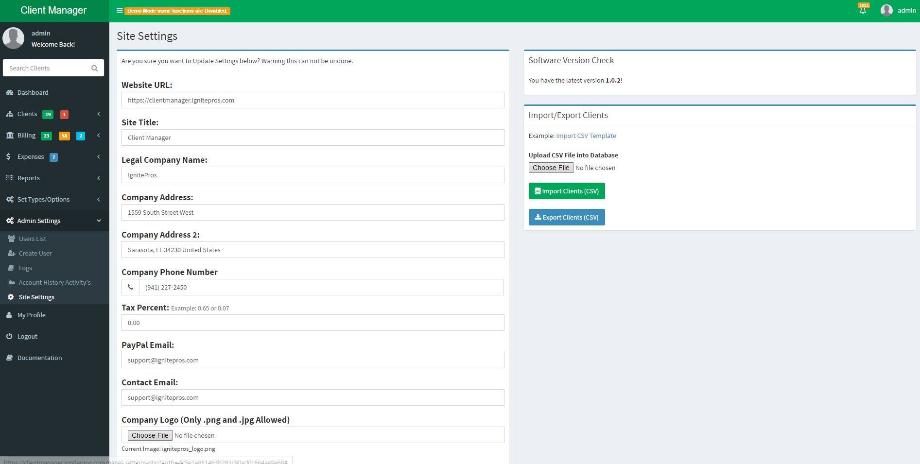 Client billing management system by greytech codecanyon for How to bill a client