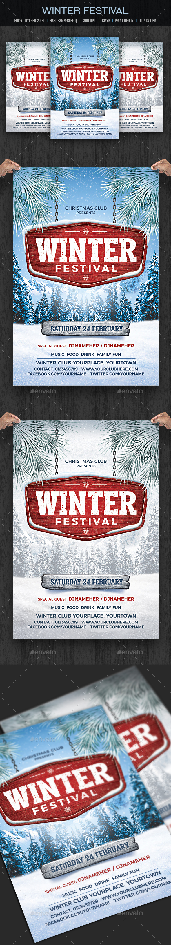 Winter Festival - Clubs & Parties Events