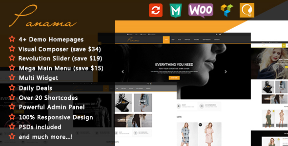 Panama – Responsive WooCommerce WordPress Theme
