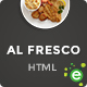 Al Fresco – An eCommerce Restaurant Responsive HTML Template - ThemeForest Item for Sale