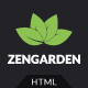 Zen Garden - Garden and Landscape HTML Template Nulled