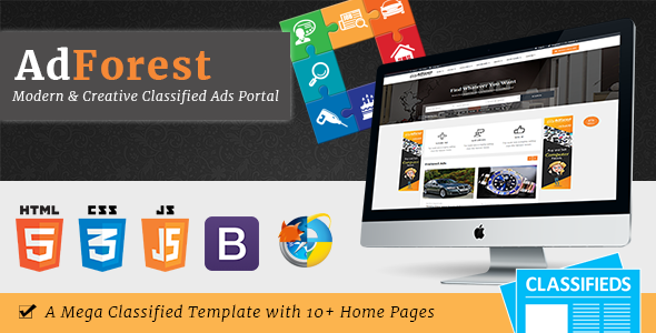 AdForest – Largest Classified Marketplace Ads Template