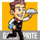 Male Waiter - GraphicRiver Item for Sale