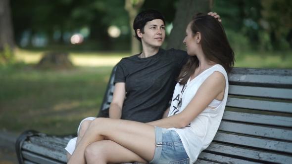 Zwei lesbische Mädchen — bild 15