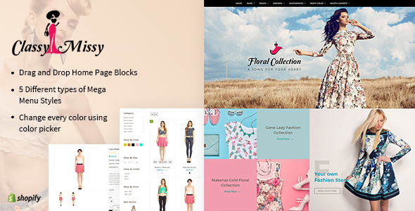 Classy Missy - A Fashion Store Shopify Theme - Fashion Shopify